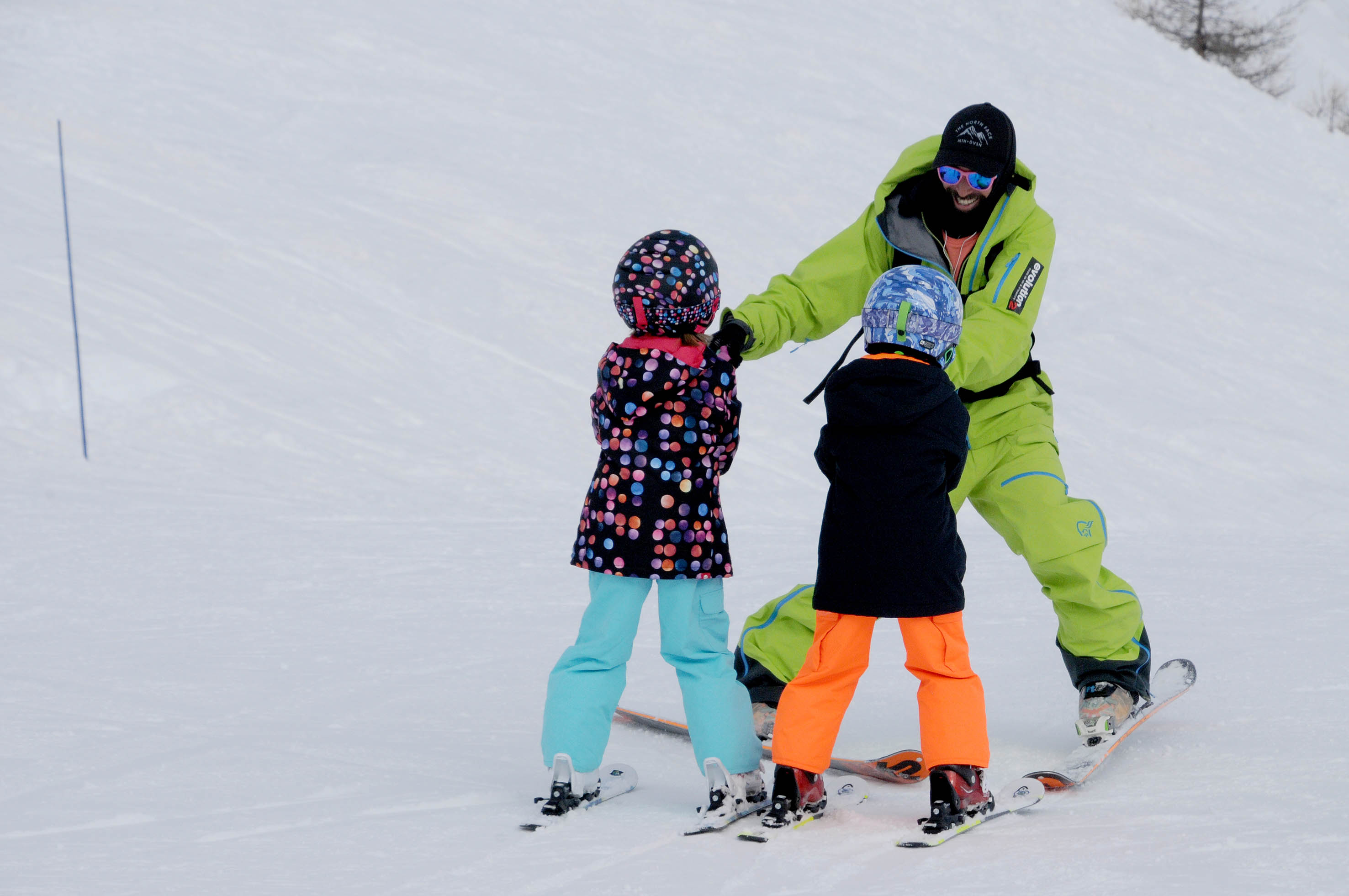 moniteur de ski à vars evolution2
