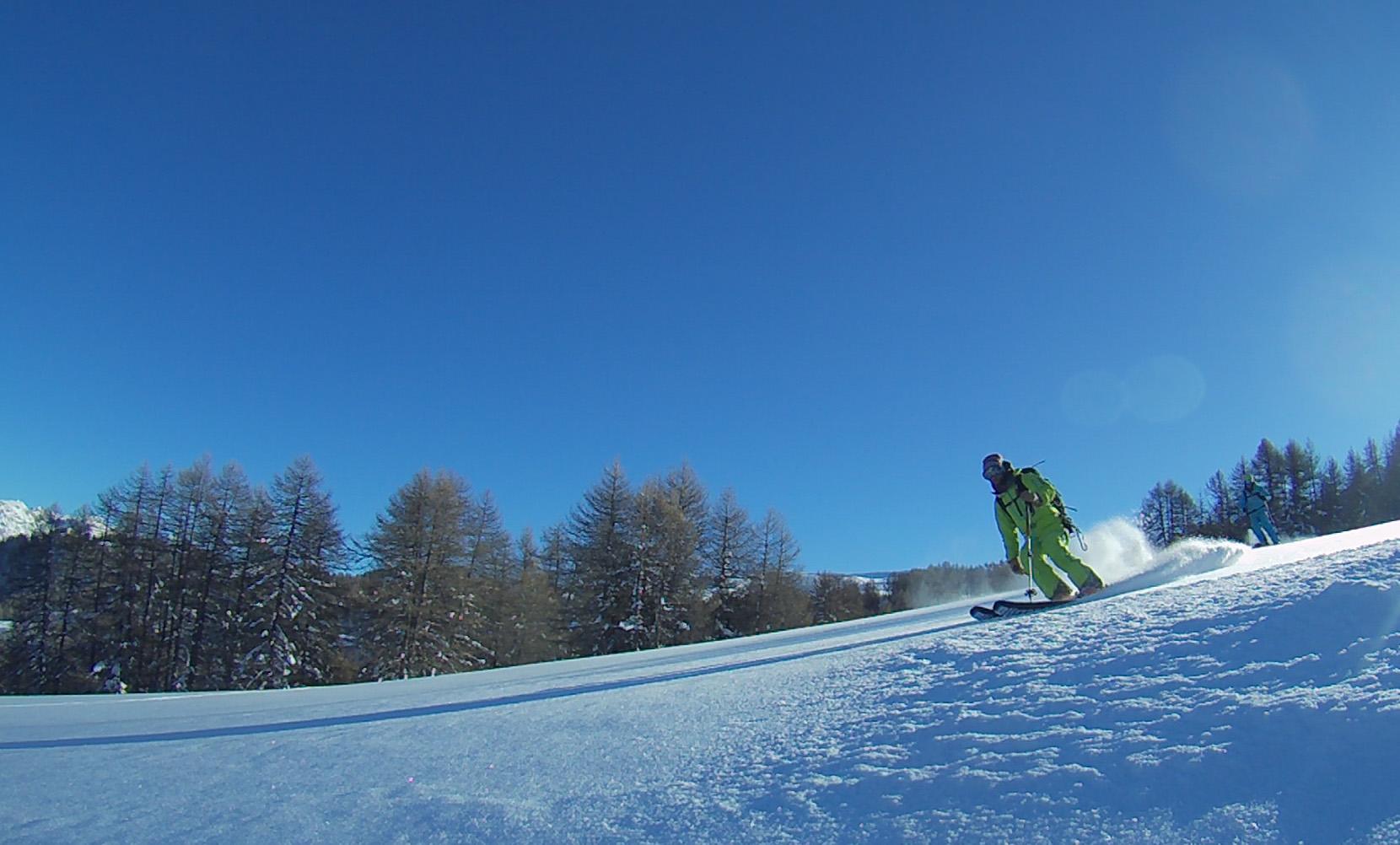 cours de ski privés à risoul