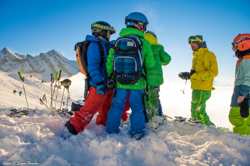 cours adolescents freeride vars