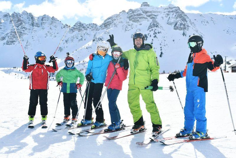 ski instructor in vars
