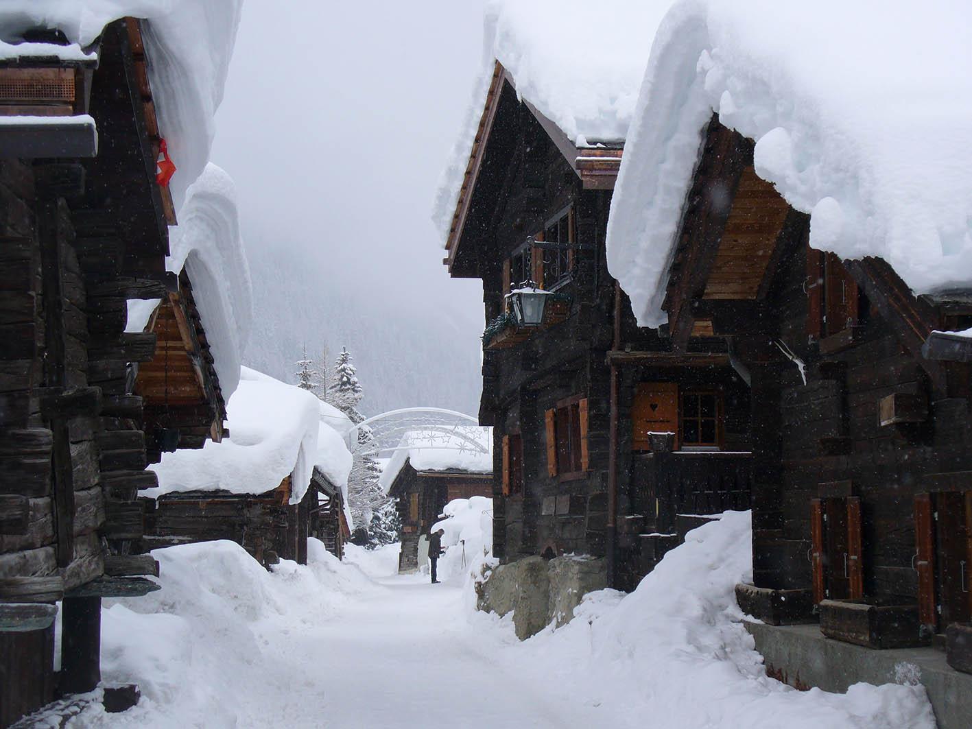 val d'anniviers valais ski trip