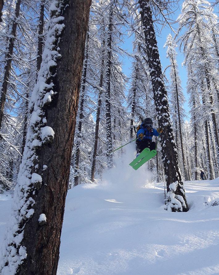 freeride / off piste skiing evolution2 vars