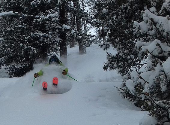 hors pistes moniteur de ski vars