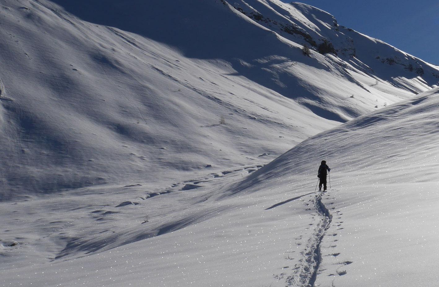 initiation ski touring