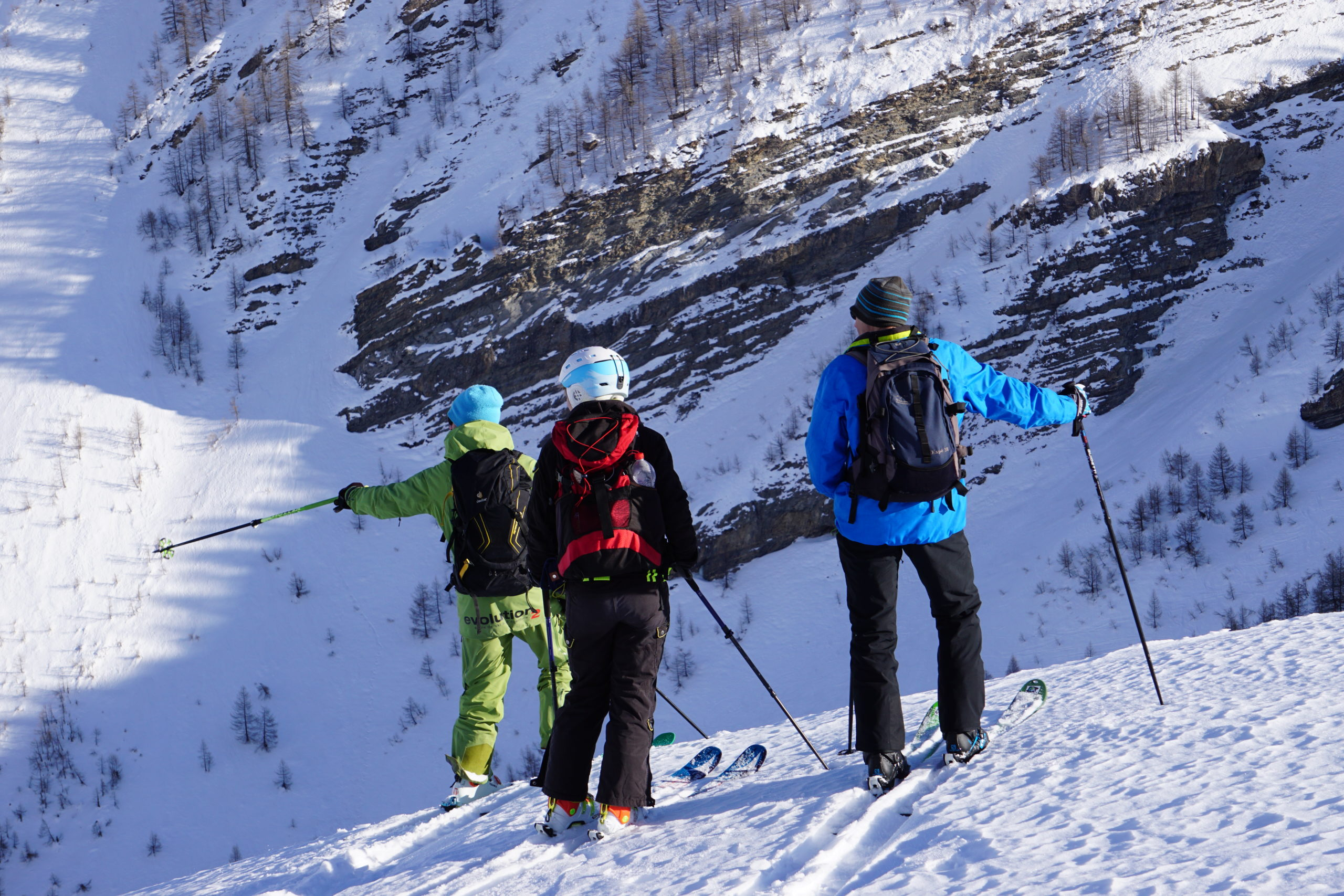 ski rando larche ubaye