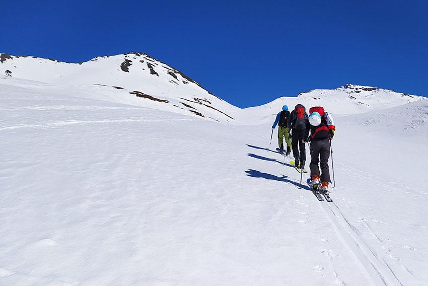 our trips ski touring vars