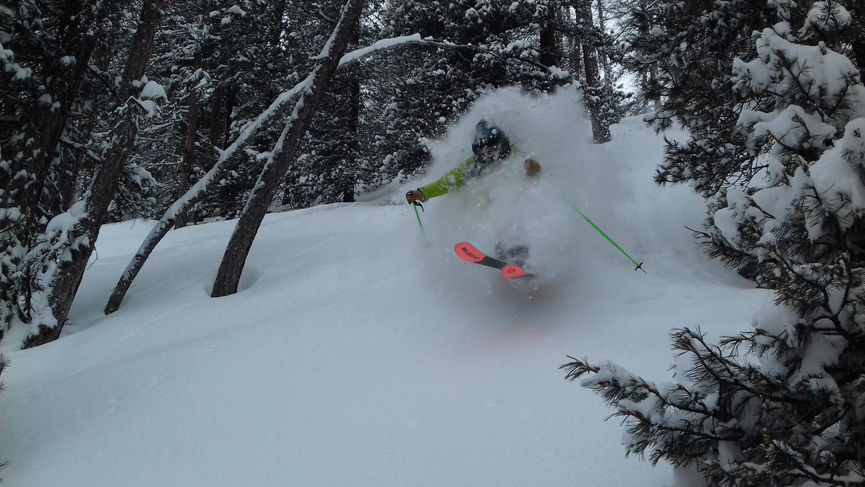 ski-poudreuse