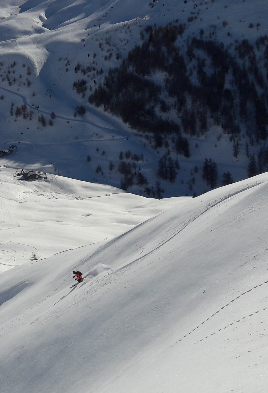 découverte hors piste hautes alpes