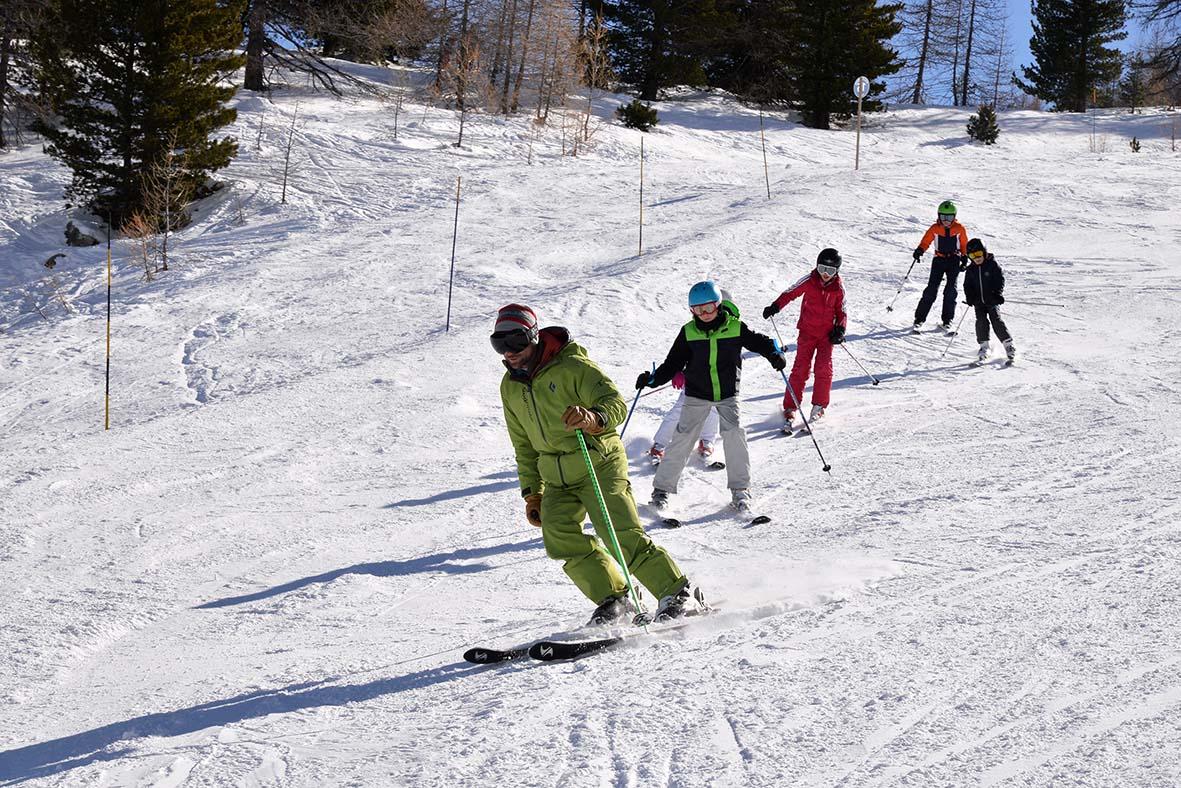 cours de ski risoul vars