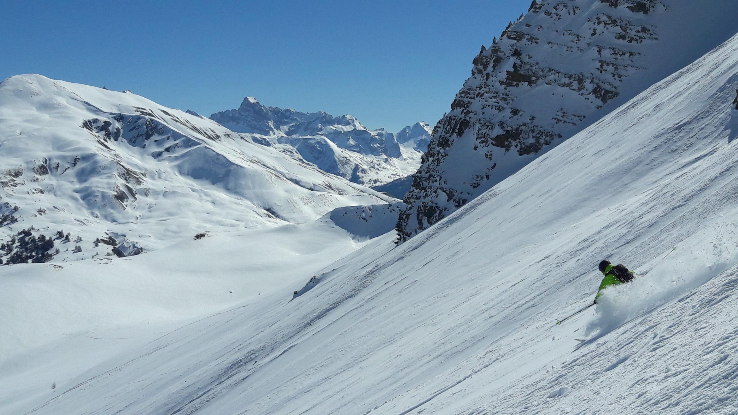 week end ski freeride hautes alpes